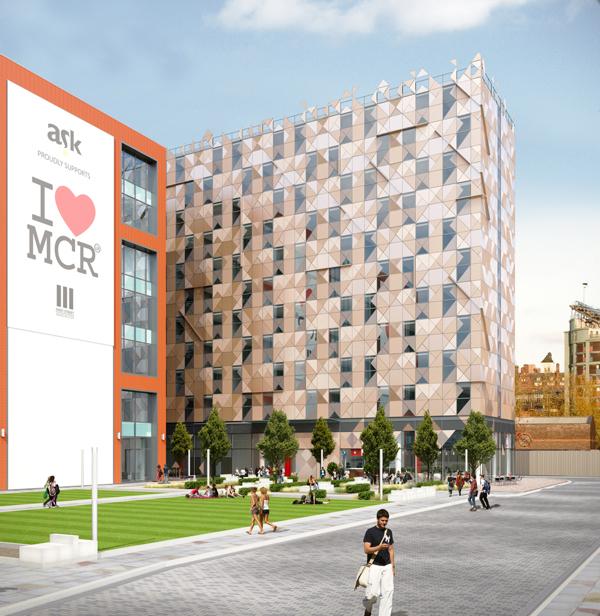 英國房地產-曼徹斯特頂級學生宿舍