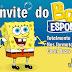 Convite do Bob Esponja Editável - R$30,00