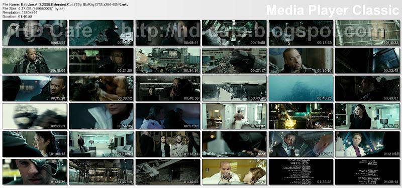 Babylon A.D. 2008 video thumbnails