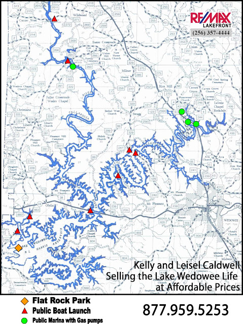 Lake Wedowee Map