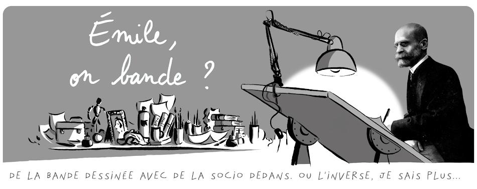Emile, on bande? – Une rencontre explosive entre un sociologue en formation et une jeune auteure de bande dessinée.