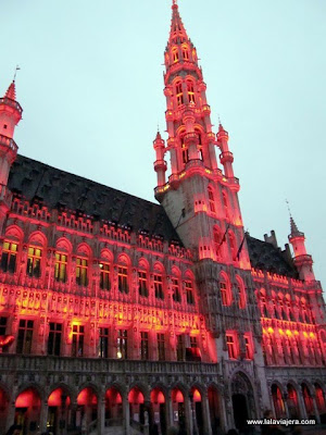 Ayuntamiento Stadhuis, Grand Place Bruselas
