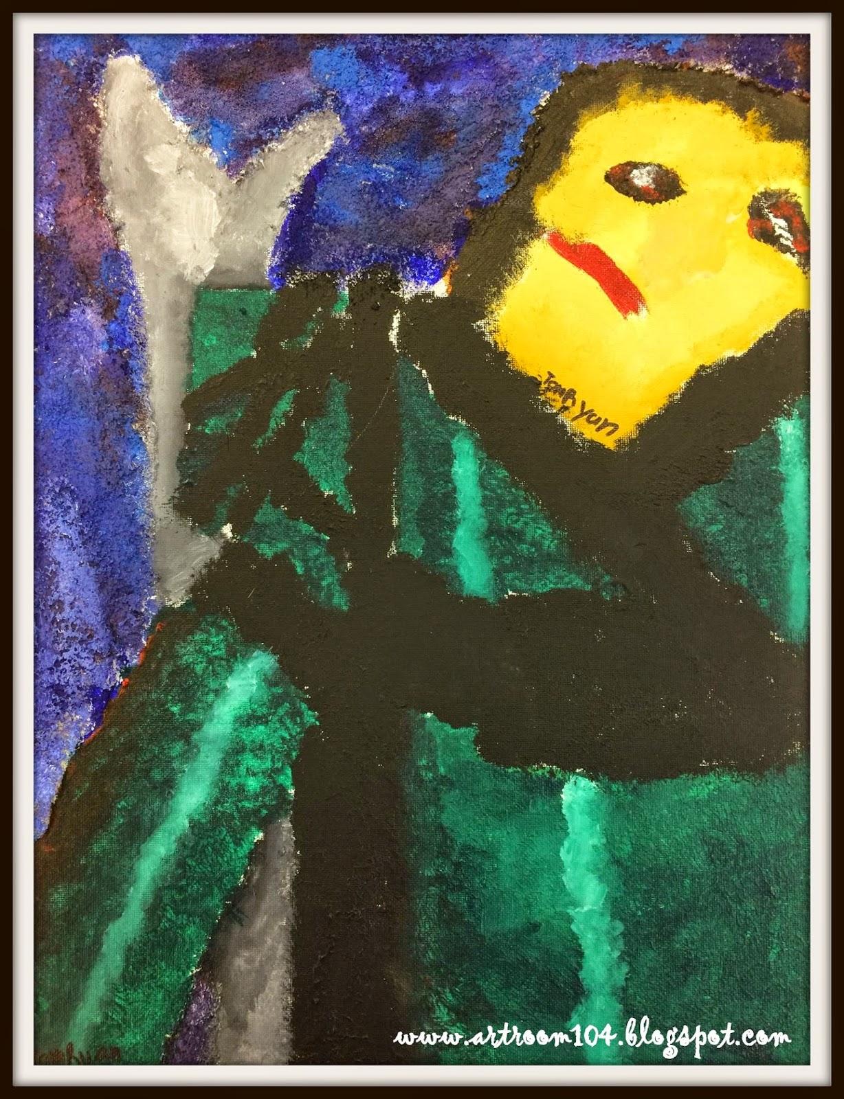 Art Room 104: Studio Art: Cubist Superheroes