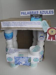 """""""Stand"""" de PALABRAS AZULES"""