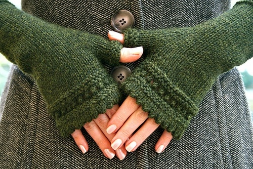 patron tricot gratuit mitaine