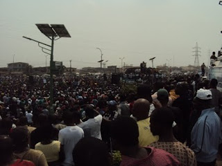 Pictures of #Occupy Nigeria Fuel Subsidy Protest