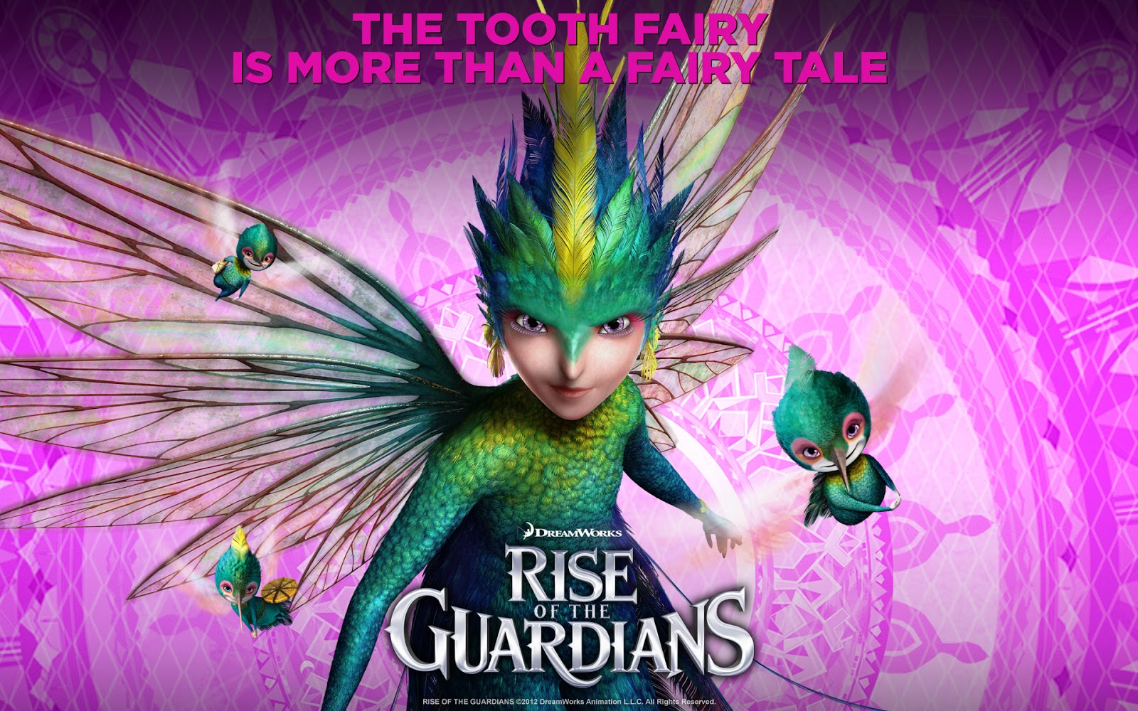 The Tooth Fairy : Rise of the Guardians Movie Wallpaper