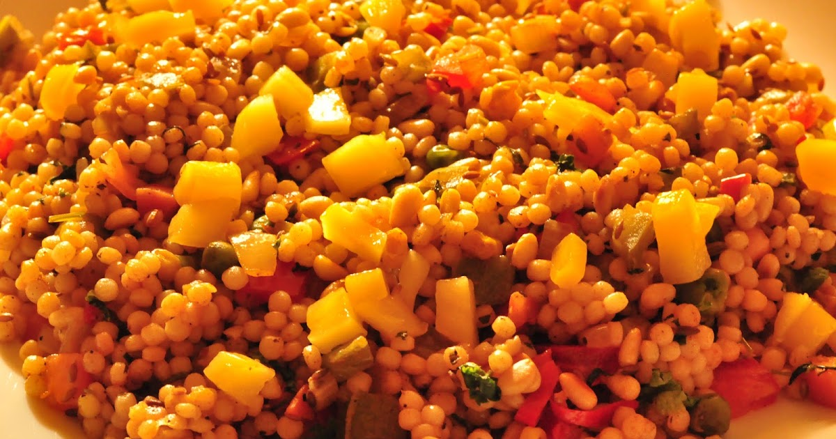 Spice Infused: Pearl Couscous Salad with Fresh Mango, Pine ...