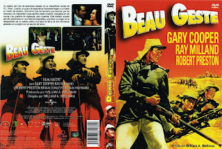 Carátula de Beau Geste 1939
