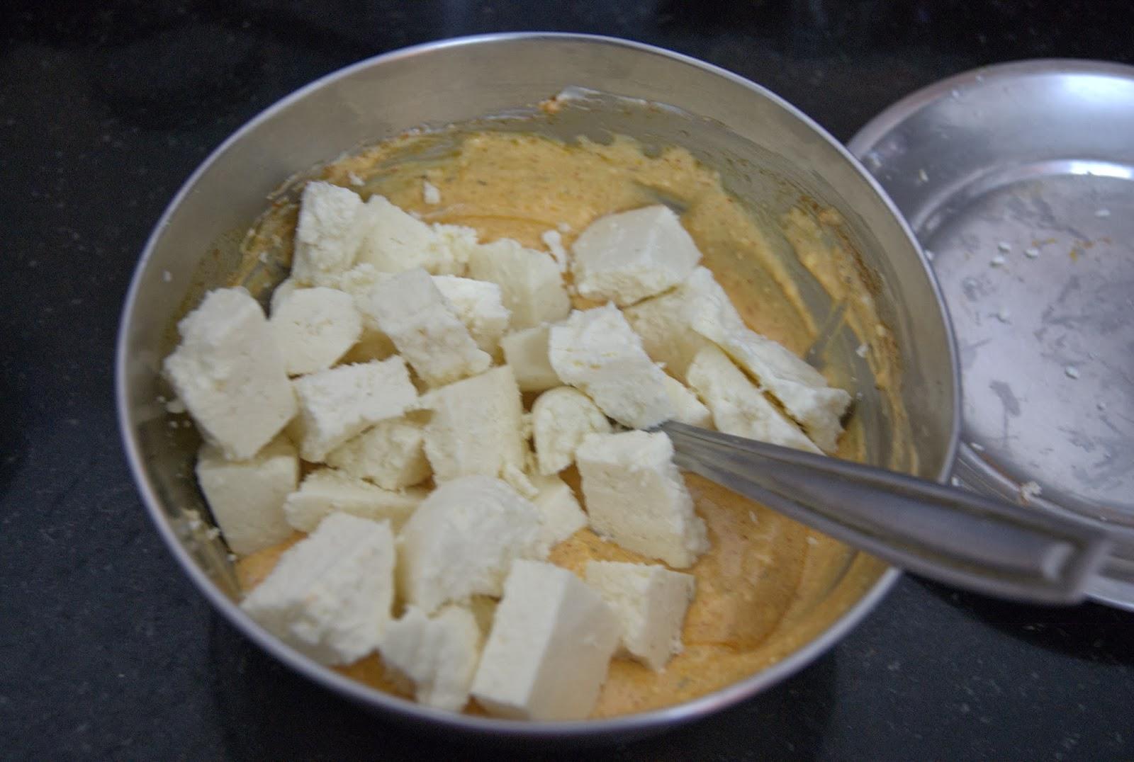 how to make paneer tikka in oven