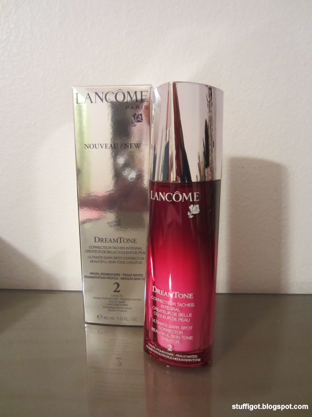 lancome dreamtone how to use