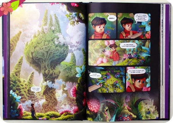 The Wormworld Saga de Daniel Lieske - éditions Dupuis