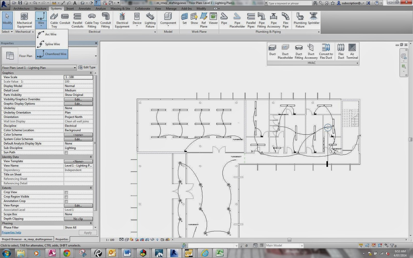 how to create new wire types with different linestyle in revit rh knowledge autodesk com Revit Electrical Tutorial electrical single line diagram revit