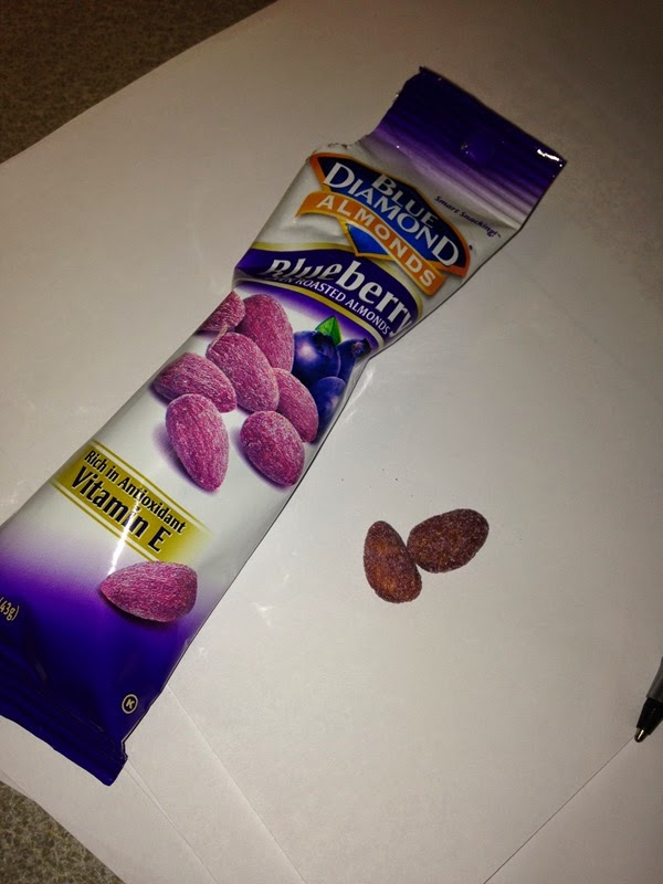 Blue Diamond Blueberry Flavored Almonds