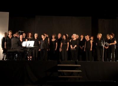 El Cor 'Lambert Alonso', dirigit per Josep Manel Campos (Fotografia: Ferran D'Armengol