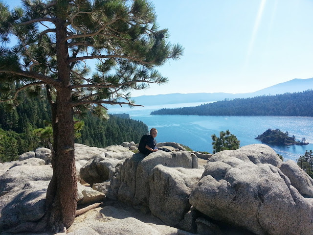 Lake Tahoe and a little Olsen