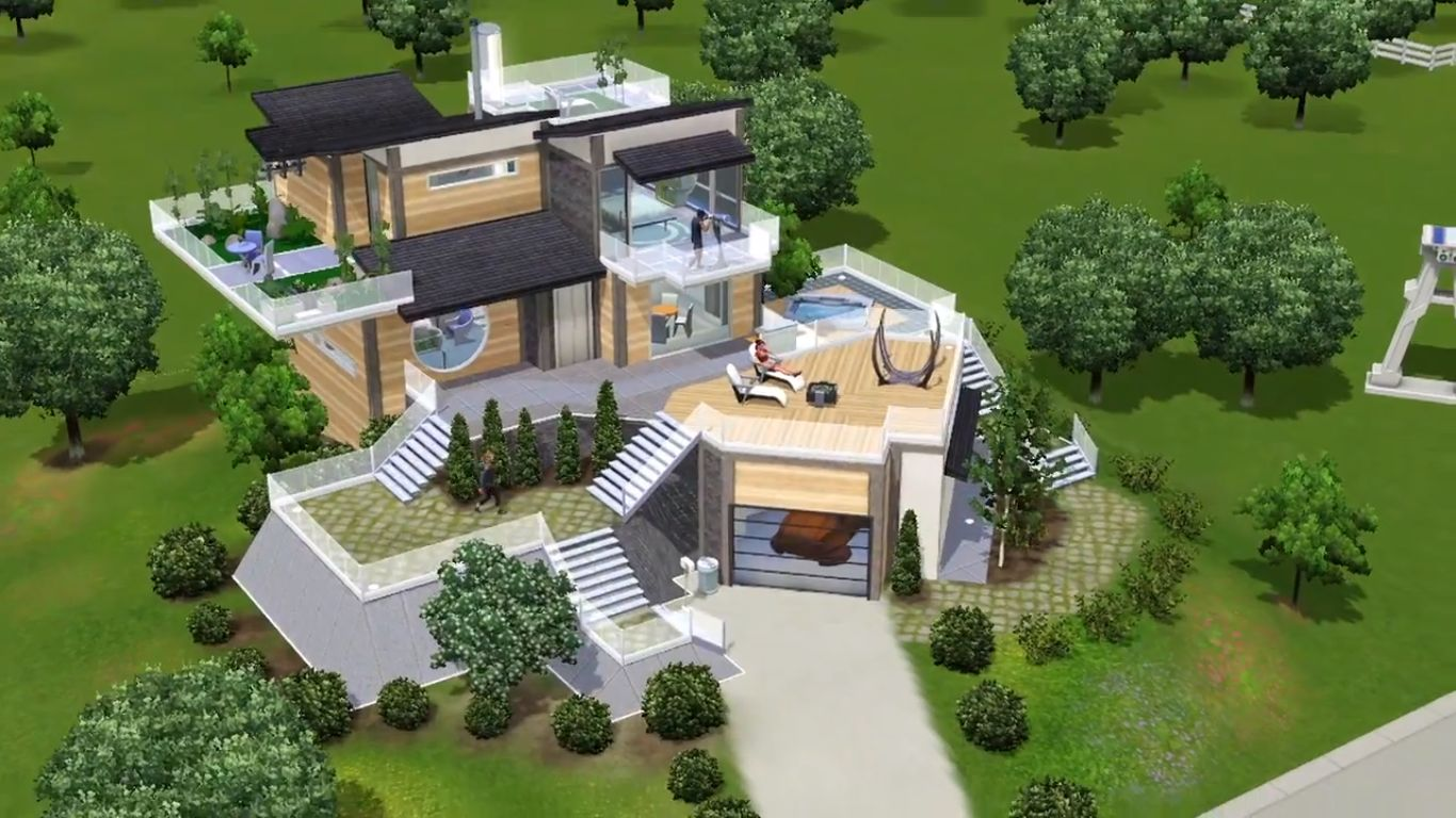 sims 4 pc how to move to house