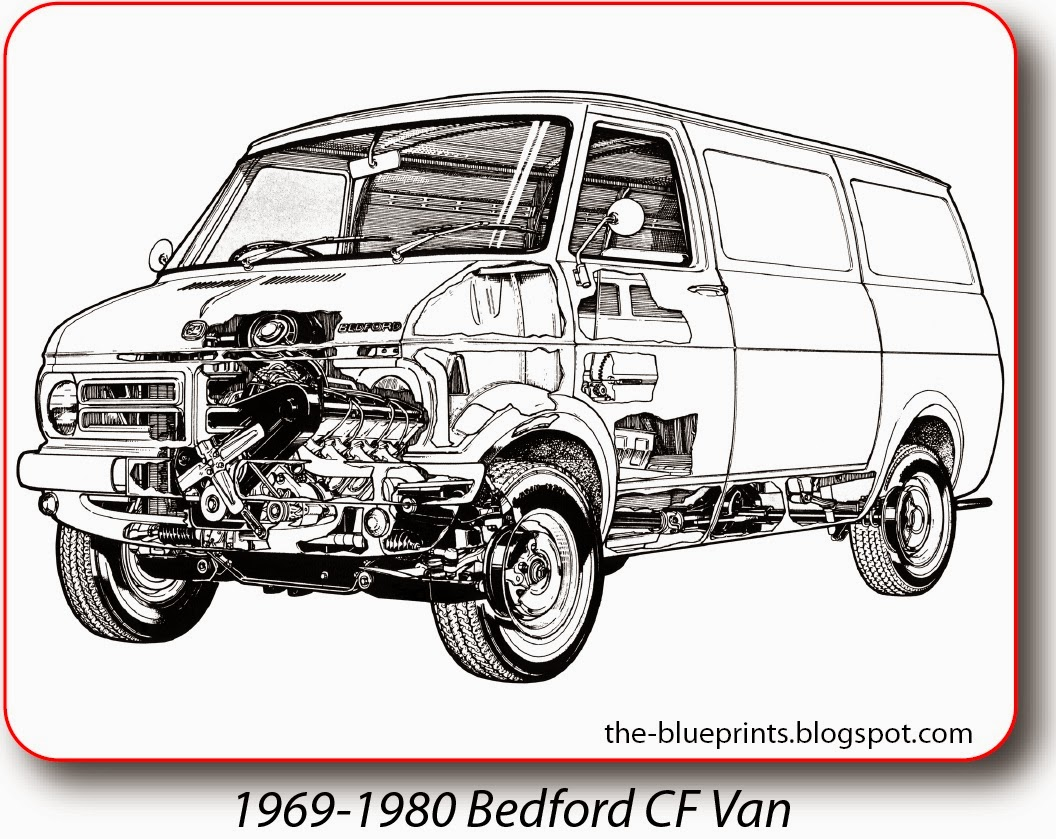 Vector Blueprints - Cars, Trucks, Busses and others: Bedford ...