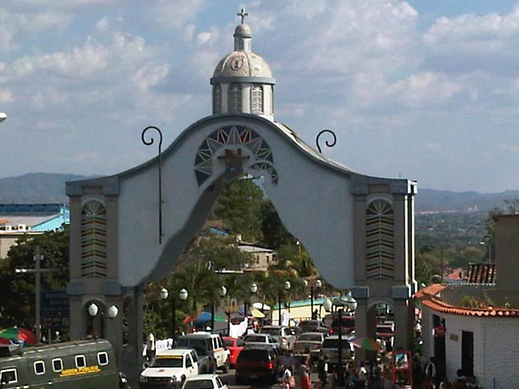 Arco entrada de Santa Rosa 2013