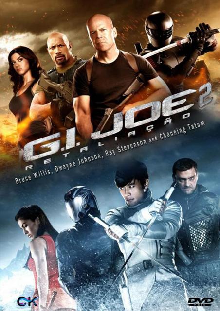 Filme G.I. JOE 2: RETALIAÇÃO DUBLADO TS 2013