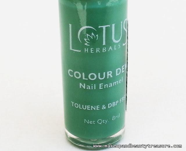Lotus Herbals Colour Dew Nail Enamel '80 Go Grapes' Review & NOTD