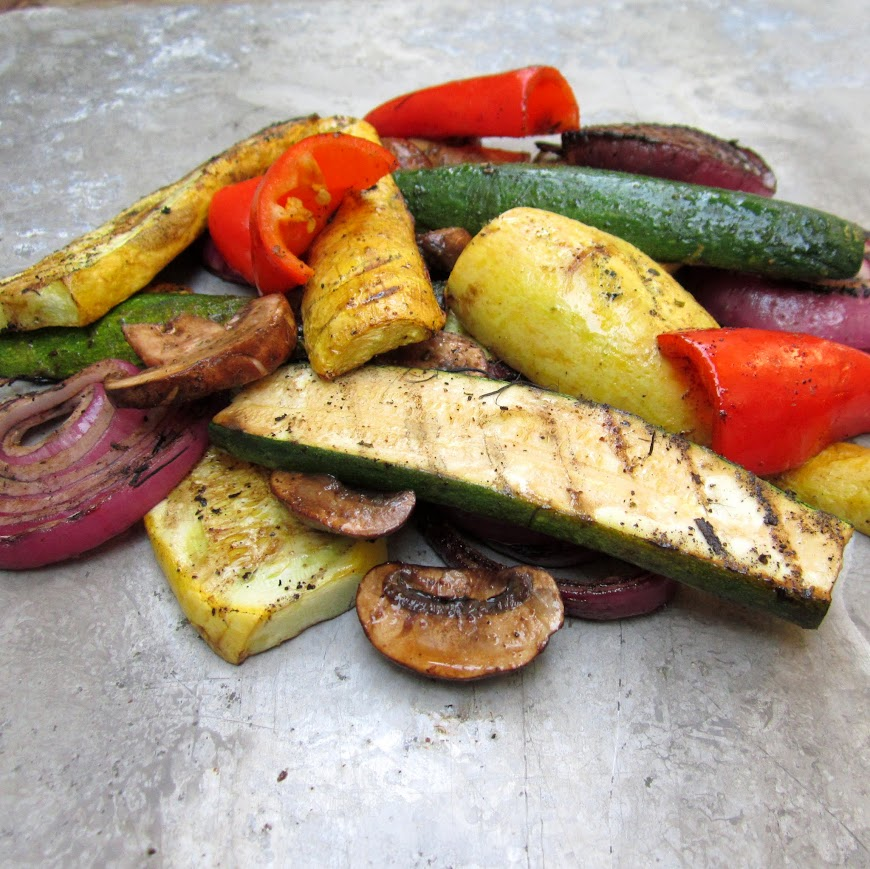 Tutorial on grilling perfect summer vegetables