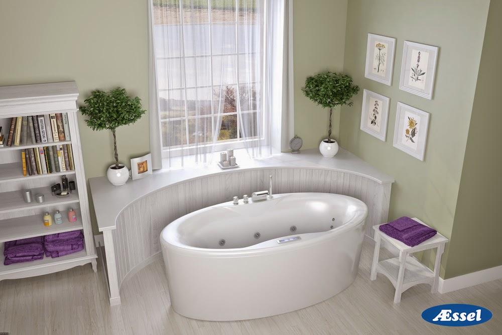 Новые модели акриловых ванн Aessel 2014