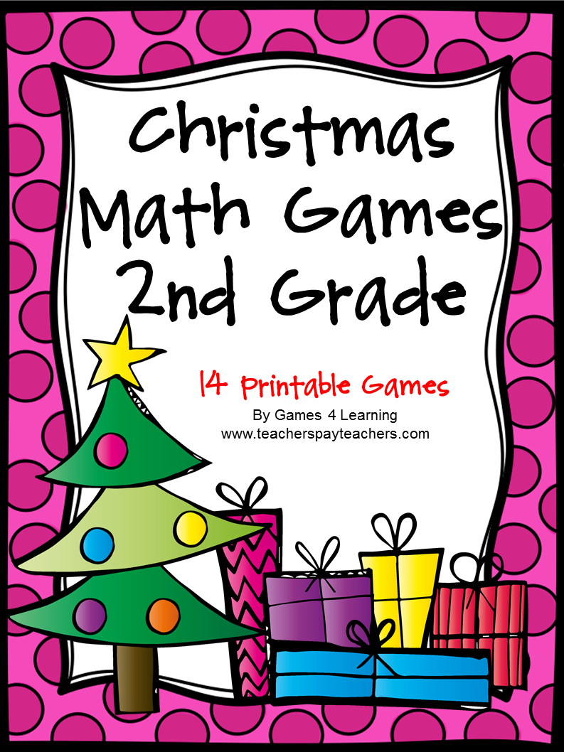 Fun games 4 learning no prep christmas math freebies for Cool christmas math games