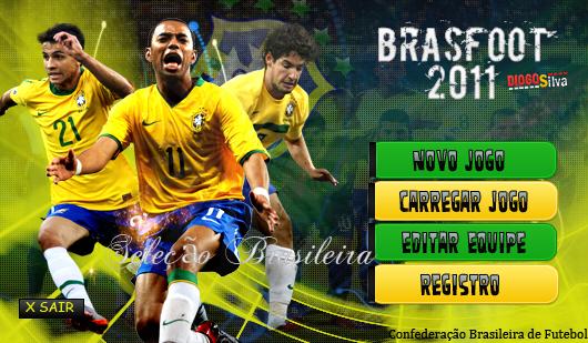 Skin Seleção Brasileira para Brasfoot 2011
