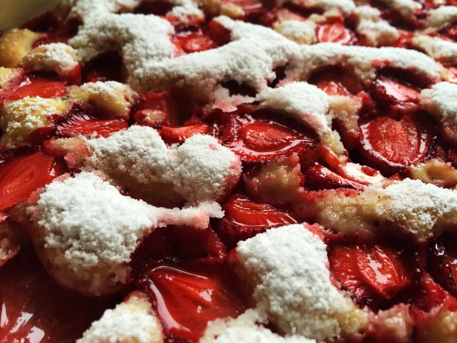 Pastel de fresas, recetas gourmet