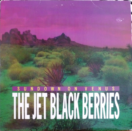 Jet Black Berries Sundown on Venus w/ bonus album side (1984, Pink