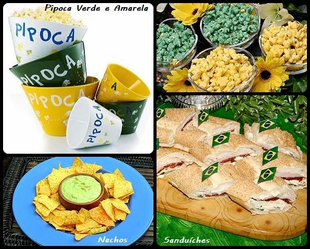 aperitivos jogo brasil