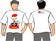 escolhido no concurso da faculdade mascote e a camiseta do curso de .