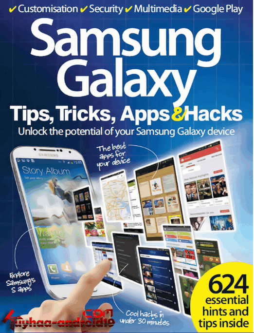 Ebook Samsung Galaxy - Tips, Tricks, Apps and Hacks Vol 1 & 2 English