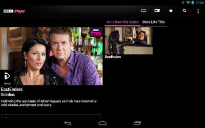 BBC iPlayer for Android updated with support for 10-inch tablet