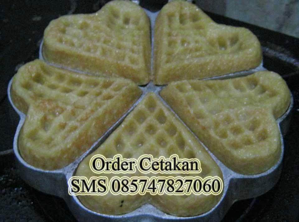 cetakan waffle manual