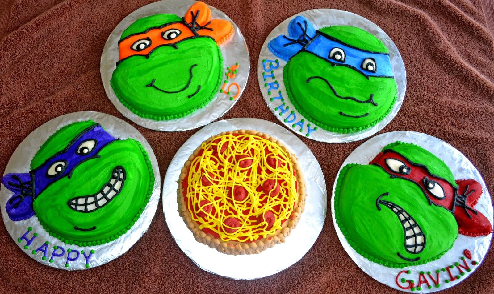 Affordable Cakes By Tiffany Teenage Mutant Ninja Turtles Cakes