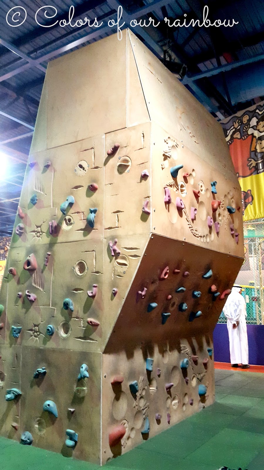 Climbing wall Discovery center sharjah