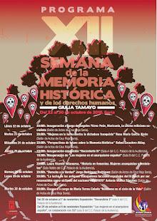 XII SEMANA DE LA MEMORIA HISTÓRICA