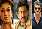 Nayanthara fights with Ajith,Vishal and Karthi – Deepavali Race