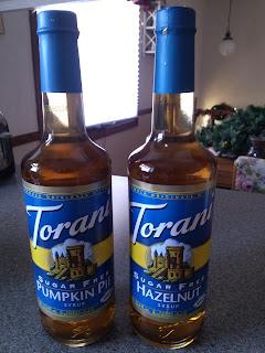 Torani Sugar Free Flavored Syrups