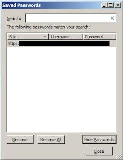 Cara menghapus password pada Mozilla Firefox