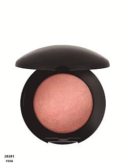 blush+iluminador+rosa+Una Maquiagem passo a passo para as Noivas...!