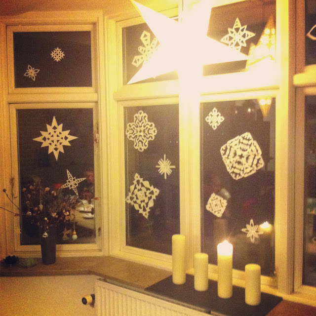 Juleklip snefnug i min stue