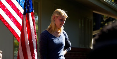 Carrie Mathison, Claire Danes, Homeland, Flag, America, Season 1, Marine One, Damian Lewis, Carrie Matheson, Claire Danes, Homeland, season 1, saison 1, Brody, Howard Gordon, Alex Gansa, Showtime, trailer, teaser, poster