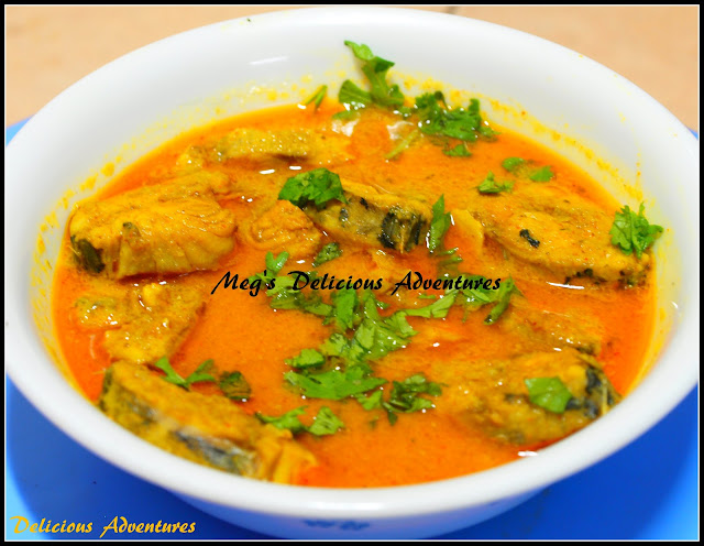 Seer Fish Curry (Surmaiche Kalvan)