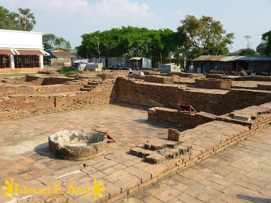 Ruins of Portuguese Village in Ayutthaya Historical Park