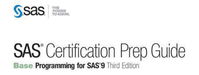SAS Certification Prep Guide Base Programming for SAS9 5551620 ...