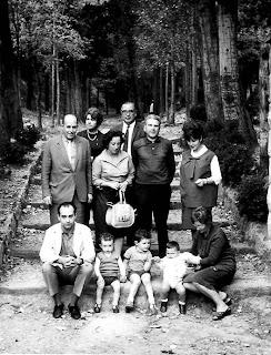 Ajedrecistas participantes en el VI Torneo Cerrado de Ajedrez Berga 1965