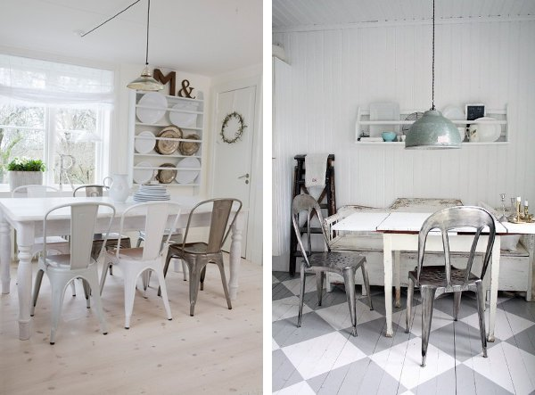 Sedie tolix e dove poterle acquistare home shabby for Sedia design nordico
